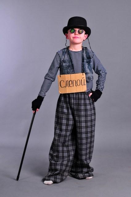 """Прокат. Детский маскарадный костюм """"Кот Базилио"""" - photo#48"""